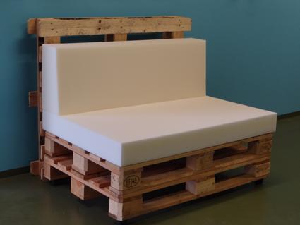Muebles con Palets Comparativa de dimensiones
