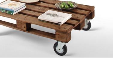 ruedas para sofa con palet