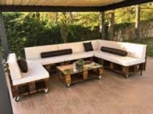 sofa palet terraza chillout